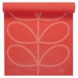 Orla Kiely Pink Yoga Mat