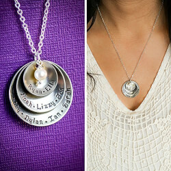 HandStamped Name Necklace