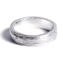 Tin Ring Inscribed with Ten Years