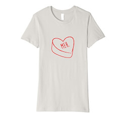 Meh Anti-Valentines Day T-Shirt
