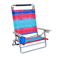 Aluminum Beach Chair with Cup Holder