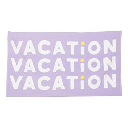 Giant Beach Vacation Towel