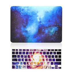 Galaxy Graphic Hard Case + Keyboard Cover
