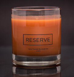 Candle in Reusable 8 oz Whiskey Glass