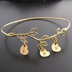 Personalized Family Tree Jewelry