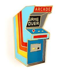 Vintage Arcade Lapel Pin