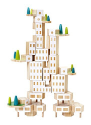 Areaware Blockitecture Garden City Building Kit