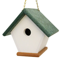 Handmade BirdHouse From Recycled Materials