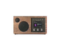 Solo Wireless Walnut Speaker