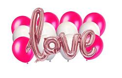 Giant Foil Love Balloon