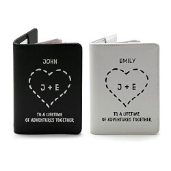 Couple Collection Passport Holder