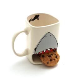 Shark Week Cookie Mug