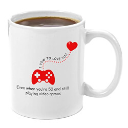 I Vow To Love You Video Game Coffee Mug