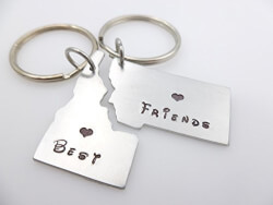 Long Distance Gifts, State keychains