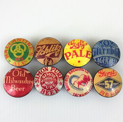 Craft Beer Bottle Cap Cabinet Knobs