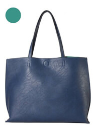 Leather Reversible Large Tote