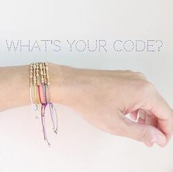 Custom Morse Code Bracelet