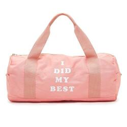 I Did My Best Gym Bag