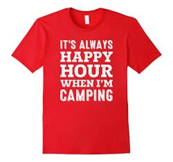 Camping Funny T-Shirt